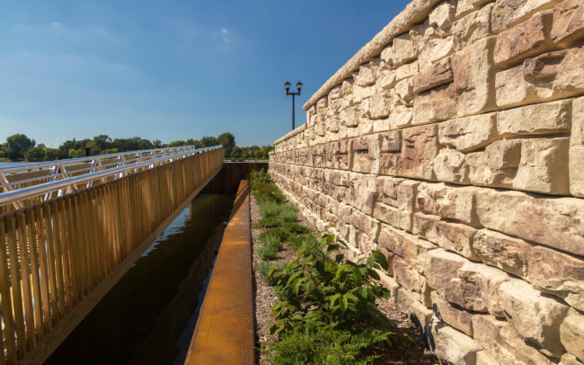 Waterfront Retaining Wall