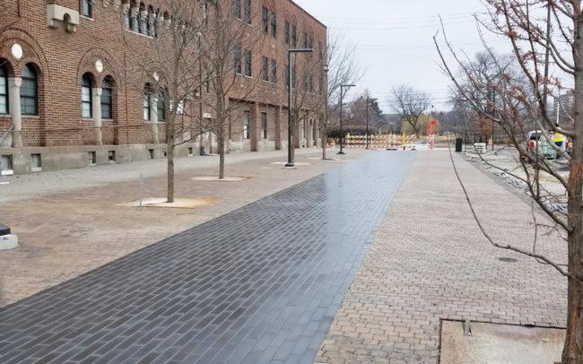 JC Greenway Paver Walkway