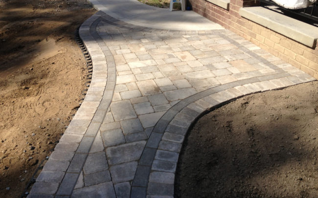 Decorative Home Paver Walkways